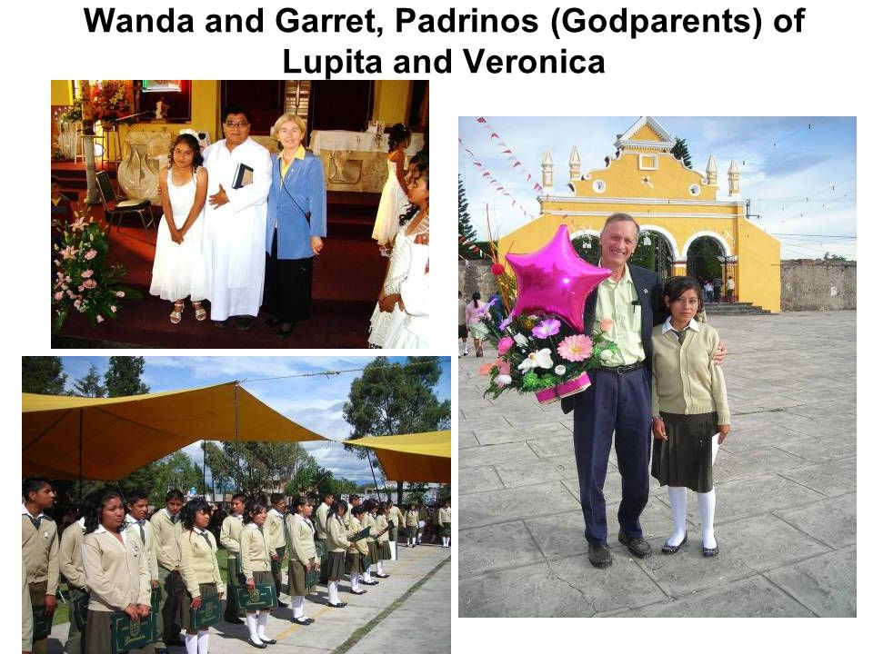 Wanda and Garret, Padrinos (Godparents) of Lupita and Veronica