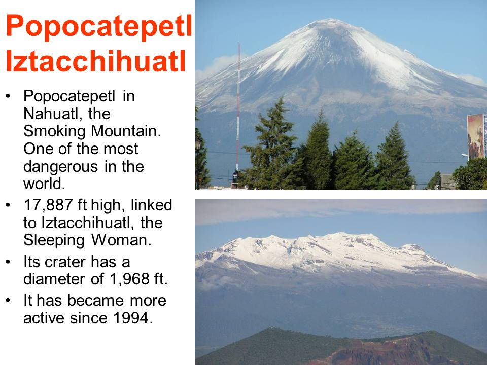 Popocatepetl Iztacchihuatl