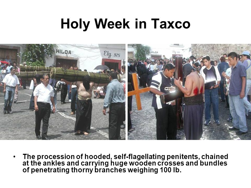Holy Week in Taxco