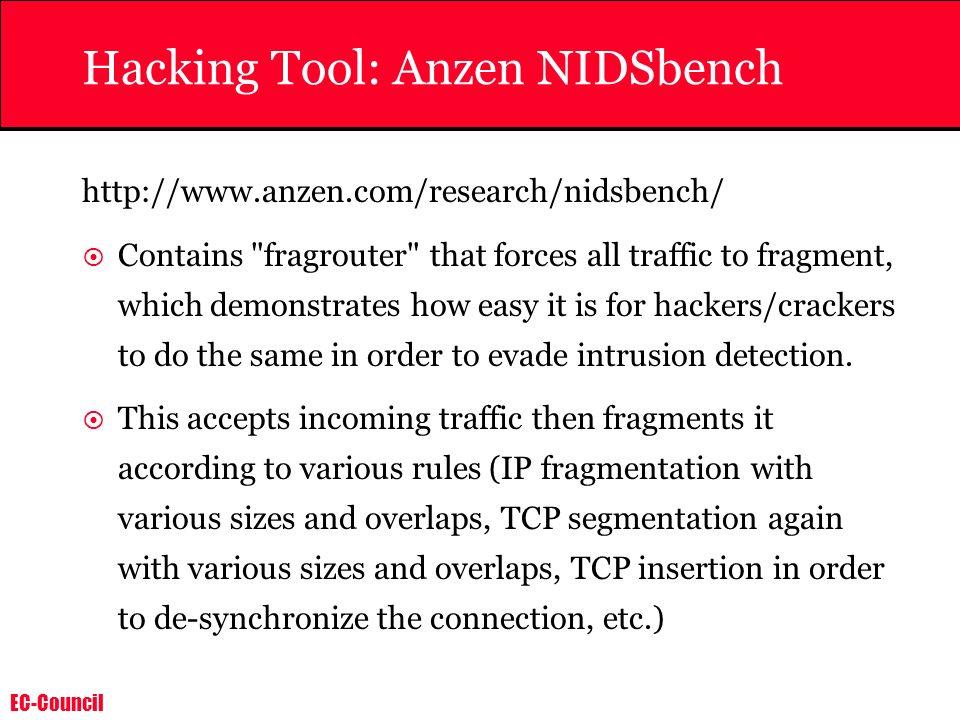 Hacking Tool: Anzen NIDSbench
