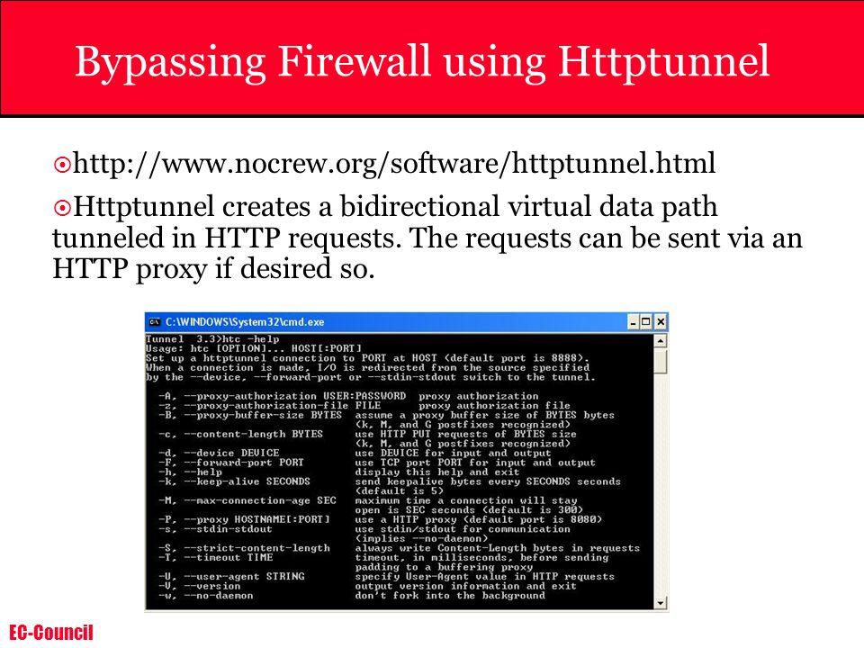 Bypassing Firewall using Httptunnel