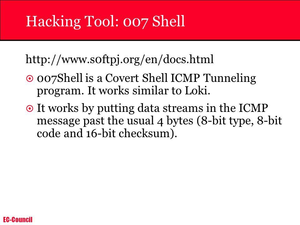 Hacking Tool: 007 Shell http://www.s0ftpj.org/en/docs.html