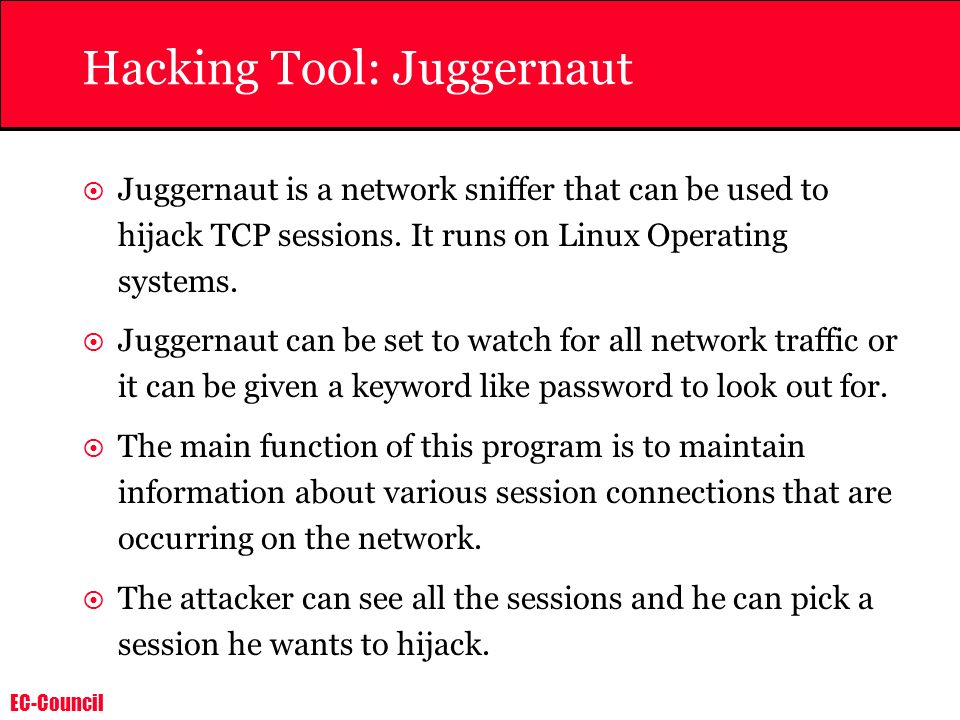Hacking Tool: Juggernaut