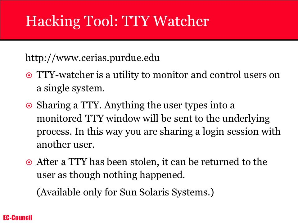 Hacking Tool: TTY Watcher