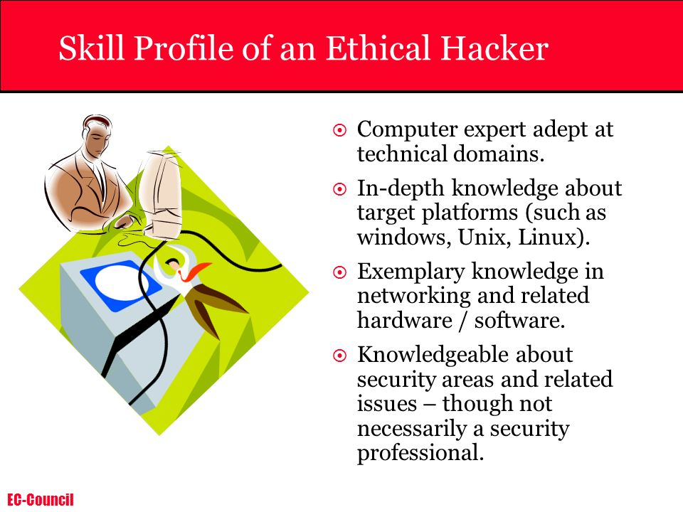 Skill Profile of an Ethical Hacker