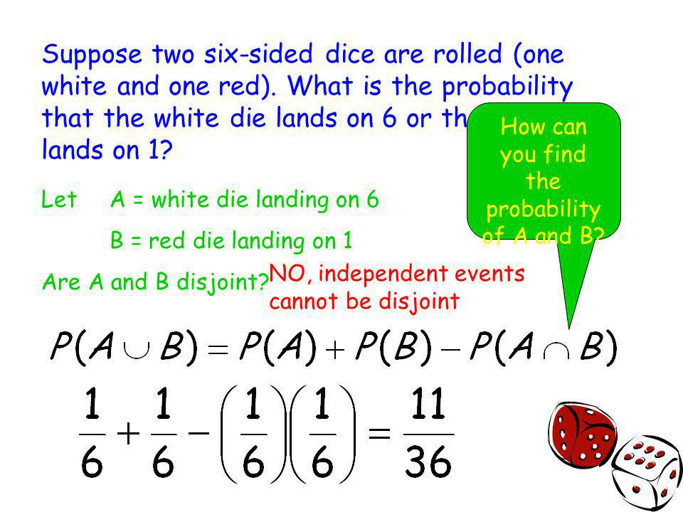 How can you find the probability of A and B