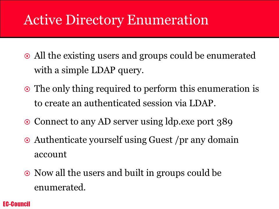 Active Directory Enumeration