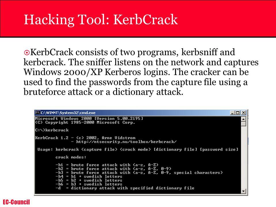 Hacking Tool: KerbCrack