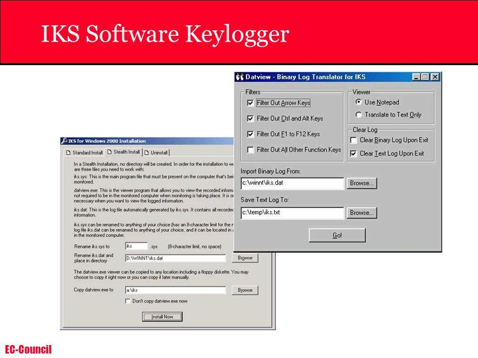 IKS Software Keylogger