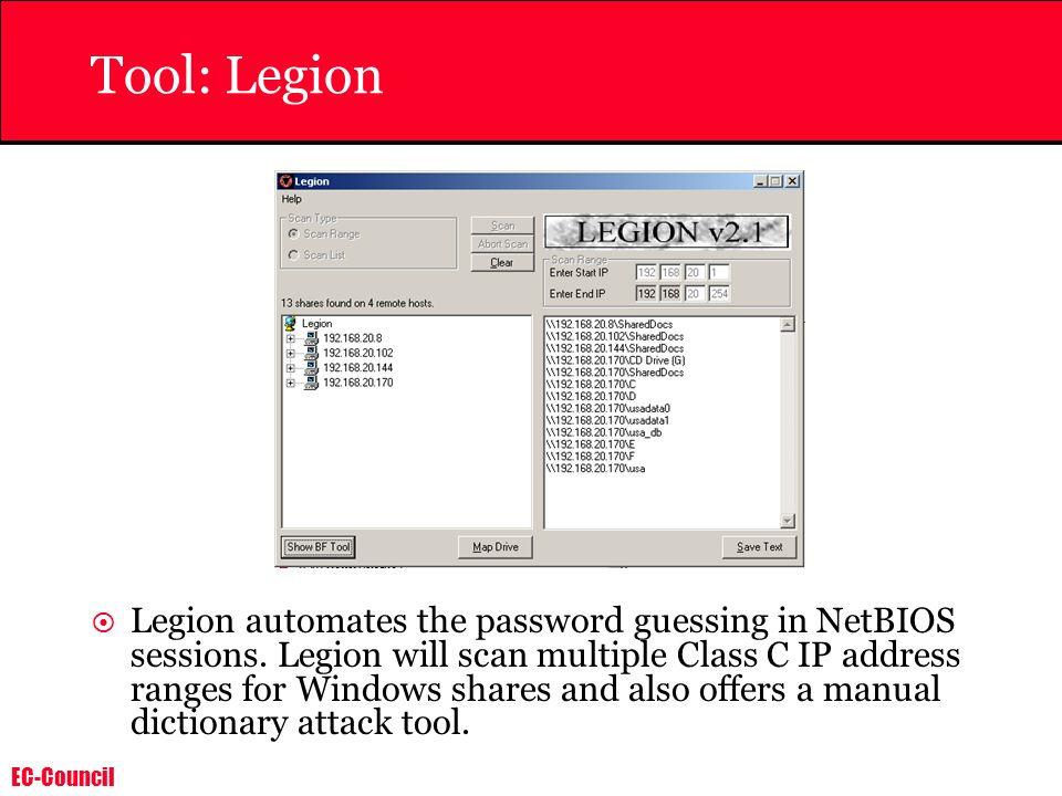 Tool: Legion