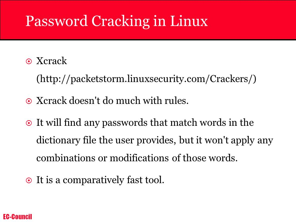 Password Cracking in Linux