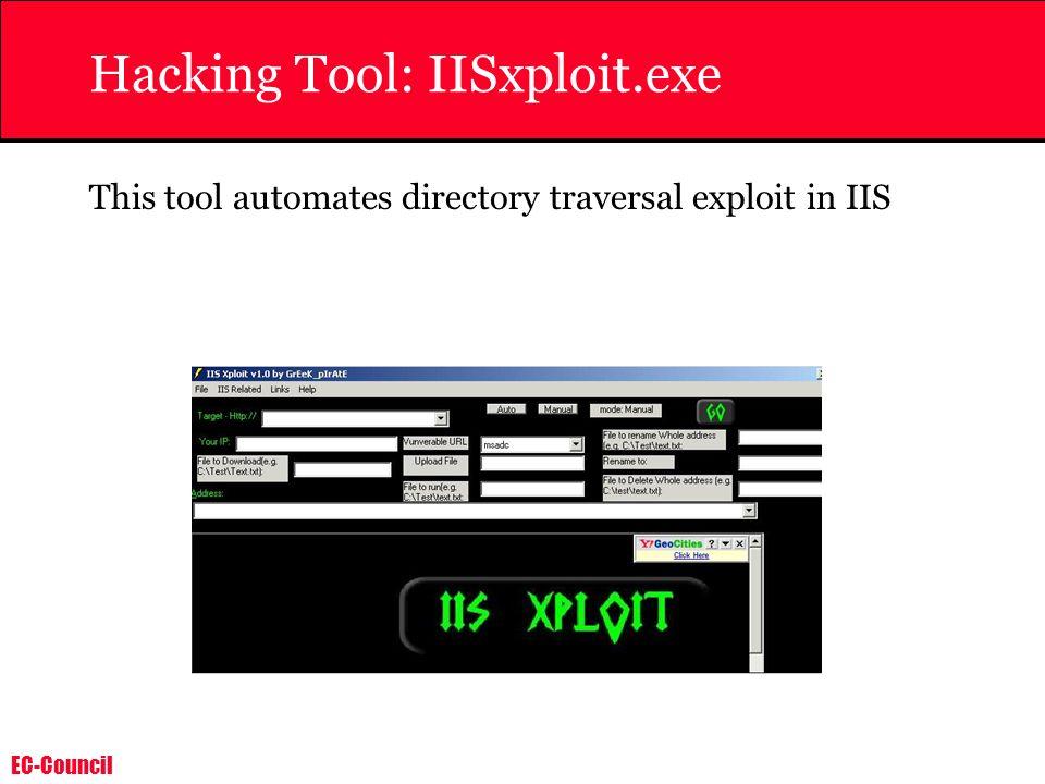 Hacking Tool: IISxploit.exe
