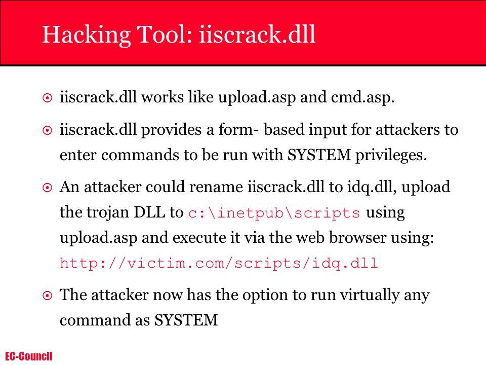 Hacking Tool: iiscrack.dll