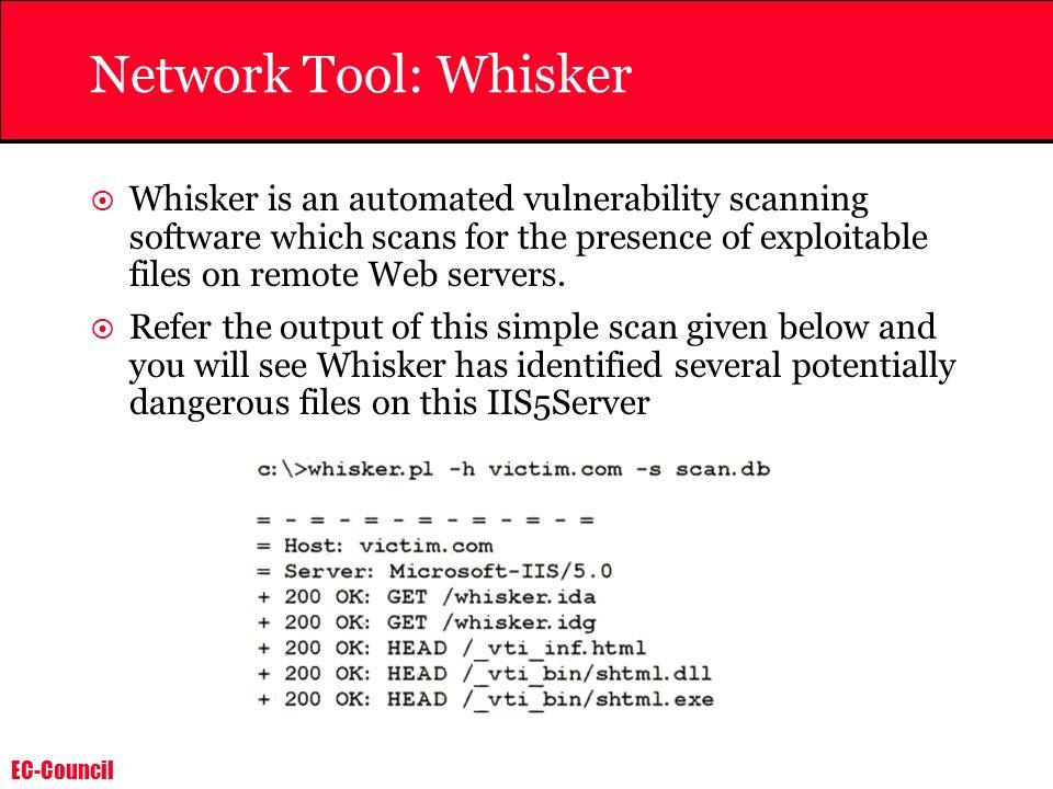 Network Tool: Whisker
