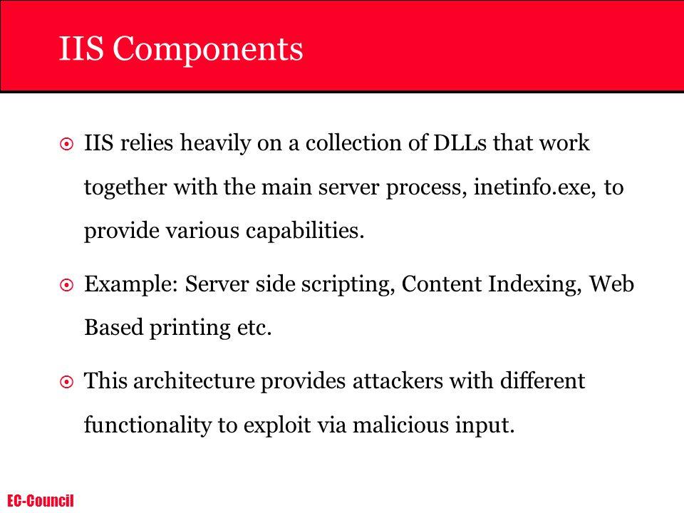 IIS Components