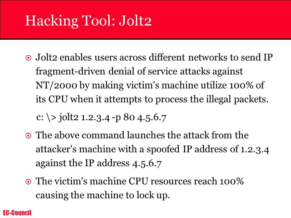 Hacking Tool: Jolt2
