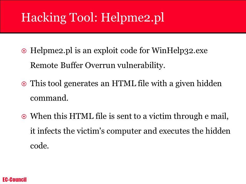 Hacking Tool: Helpme2.pl