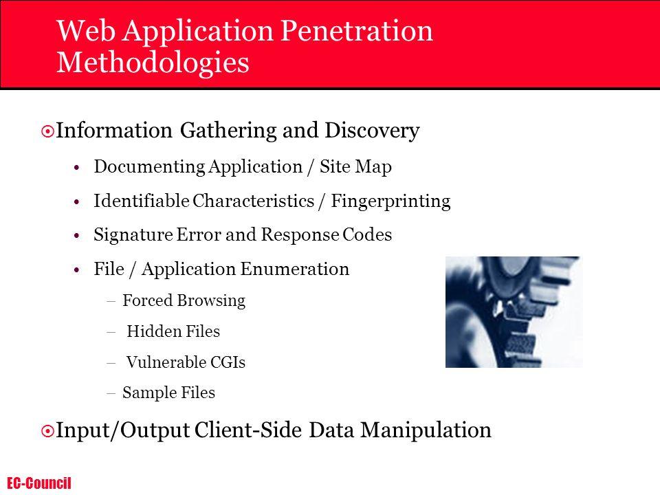 Web Application Penetration Methodologies
