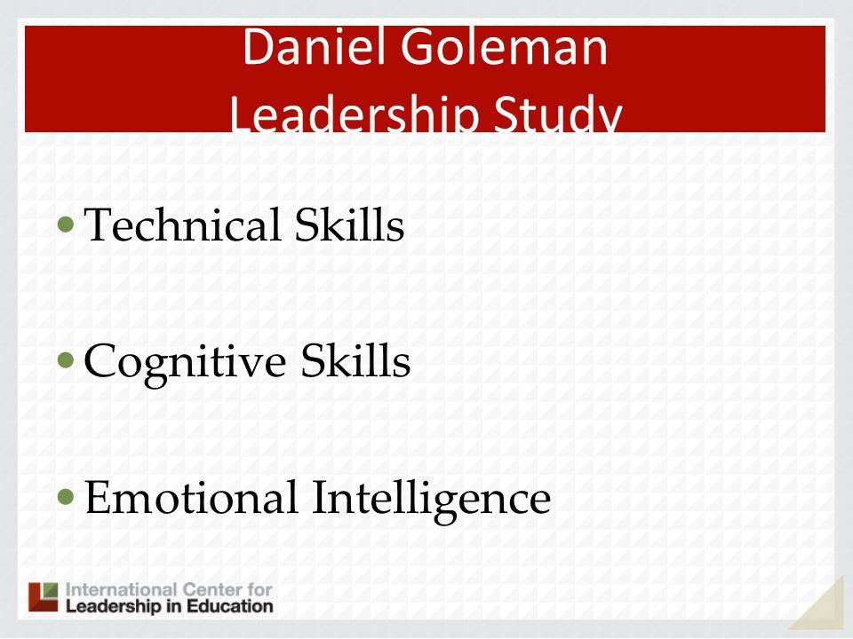 Daniel Goleman Leadership Study