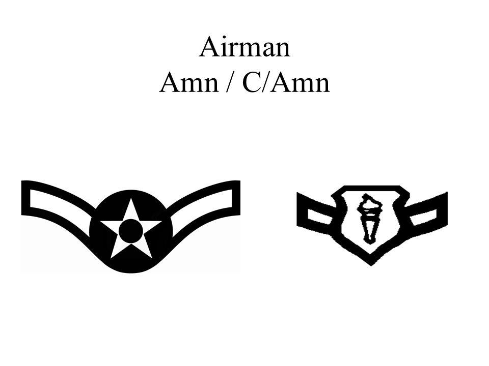Airman Amn / C/Amn