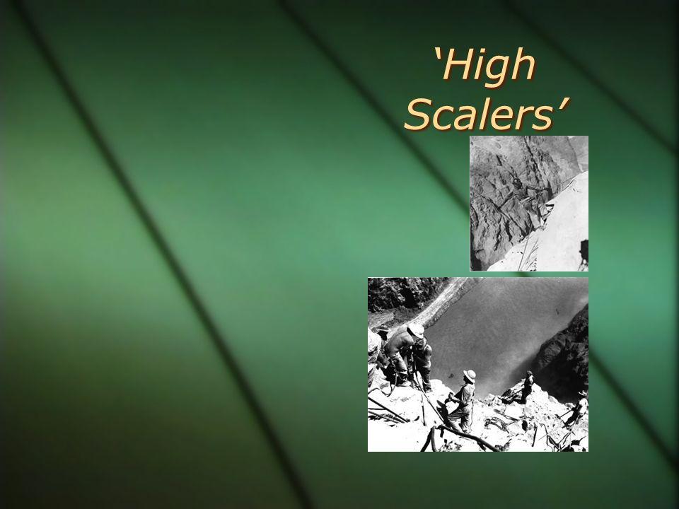 'High Scalers'