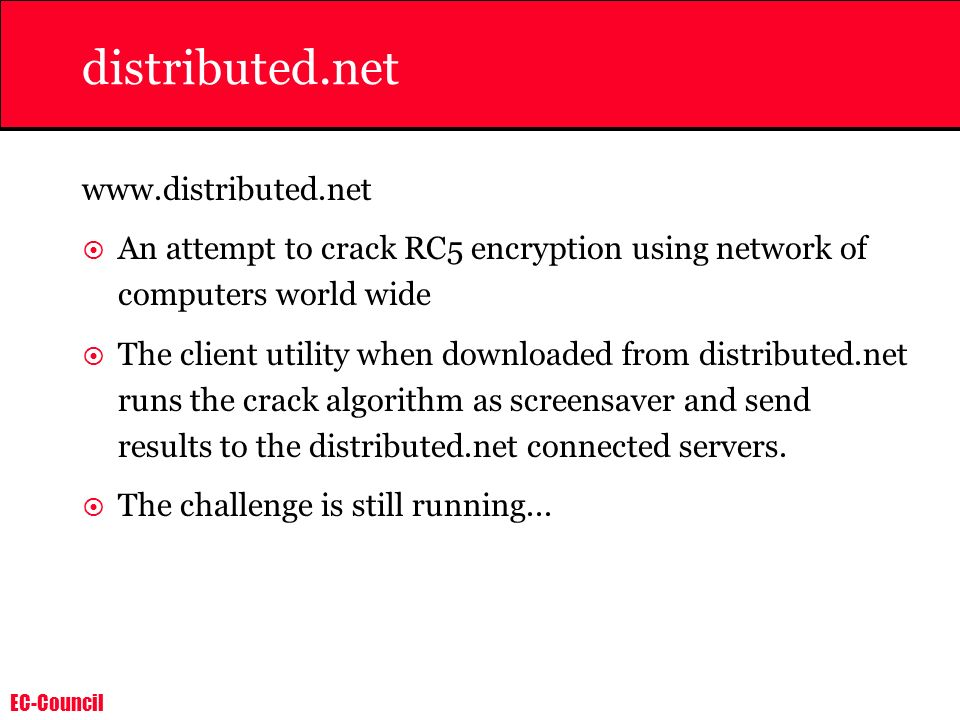 distributed.net www.distributed.net