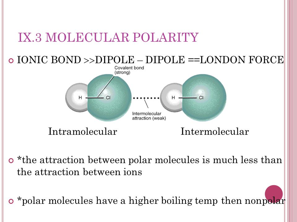 Intramolecular Intermolecular