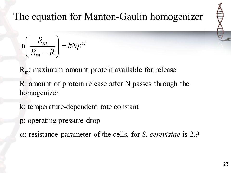 The equation for Manton-Gaulin homogenizer