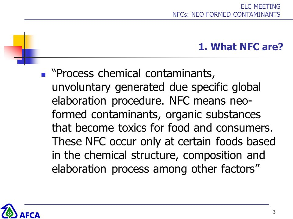 1. What NFC are