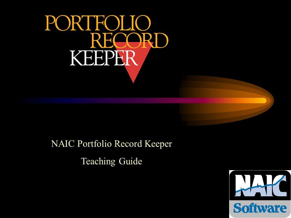 NAIC Portfolio Record Keeper