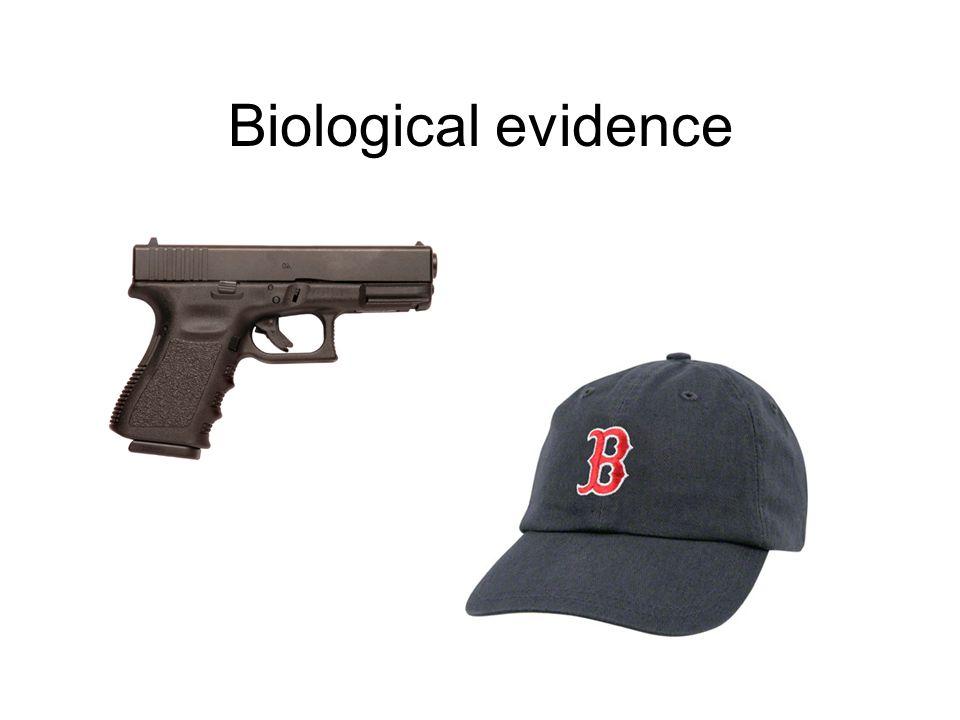 Biological evidence Cybergenetics © 2007-2010 3