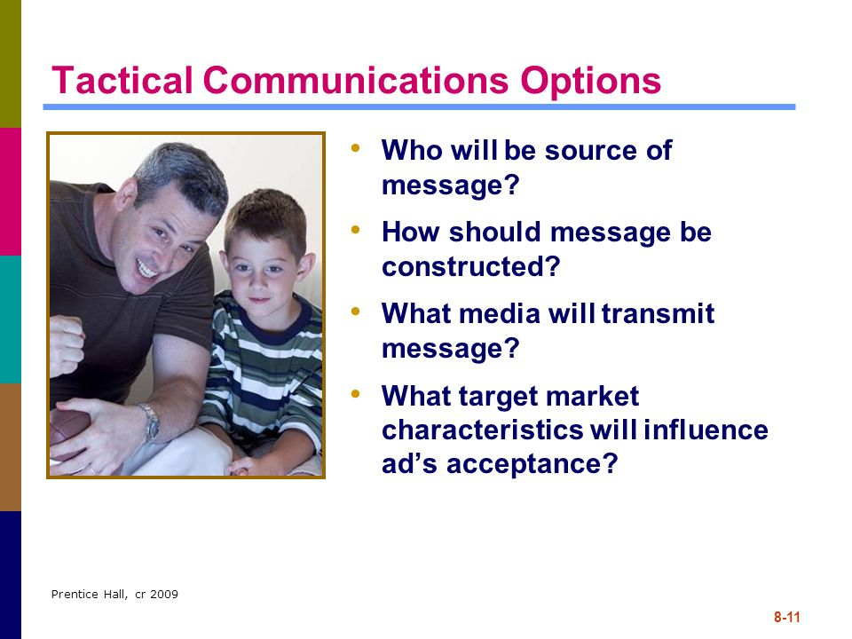 Tactical Communications Options