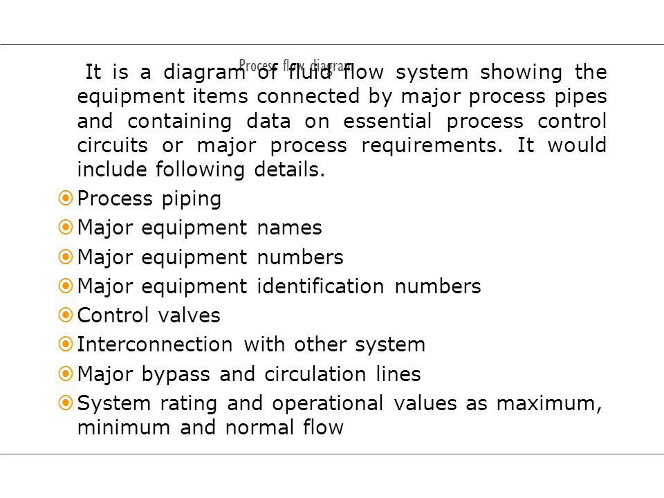 Major equipment numbers Major equipment identification numbers