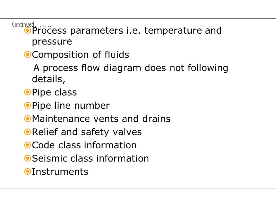 Process parameters i.e. temperature and pressure Composition of fluids