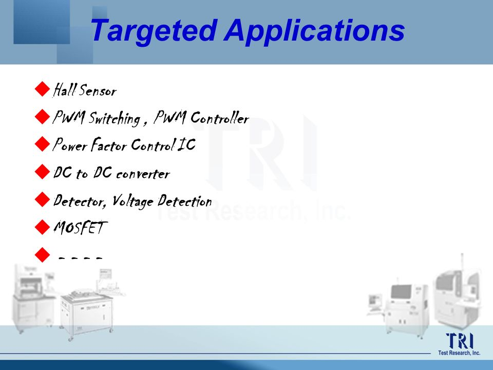 Targeted Applications