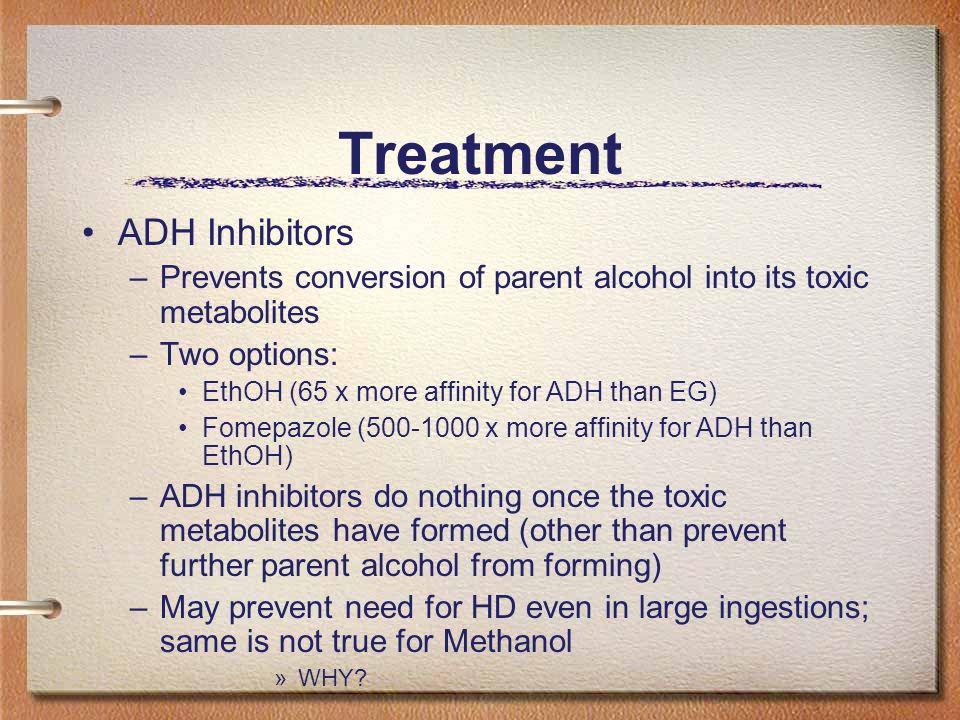 Treatment ADH Inhibitors