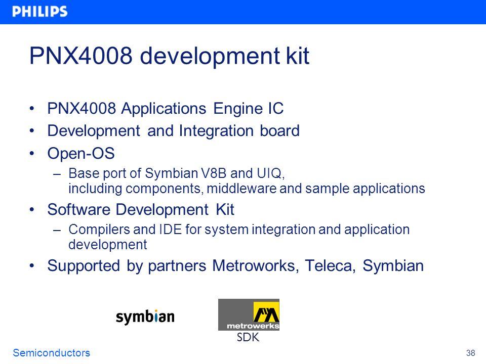 PNX4008 development kit PNX4008 Applications Engine IC