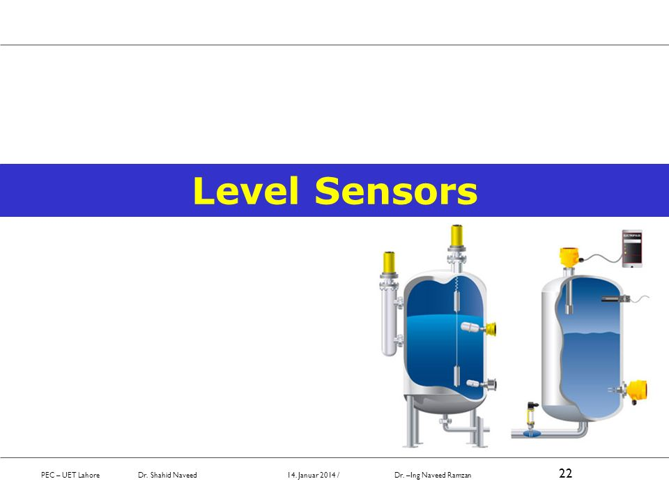 Level Sensors October 2008.