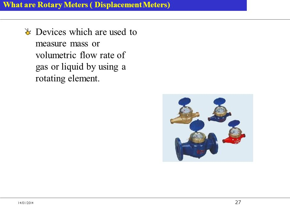 What are Rotary Meters ( Displacement Meters)
