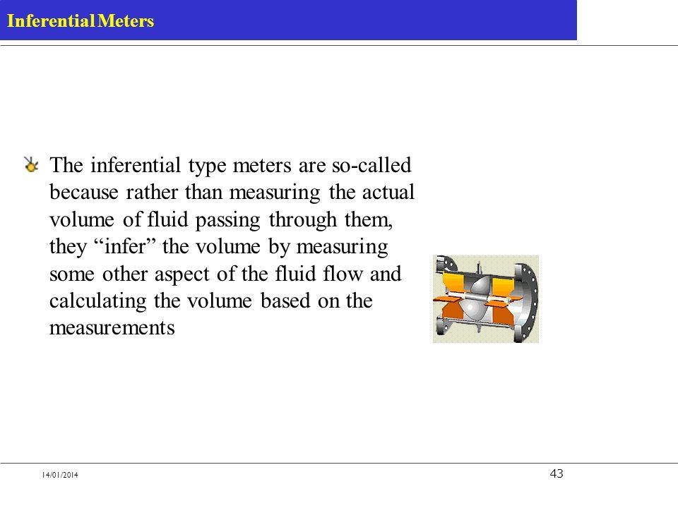 Inferential Meters