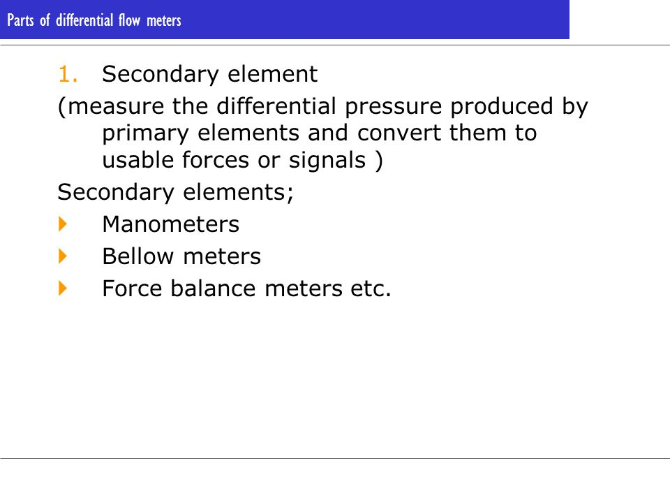 Force balance meters etc.