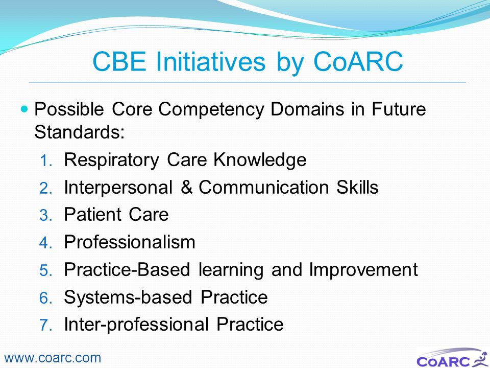 CBE Initiatives by CoARC