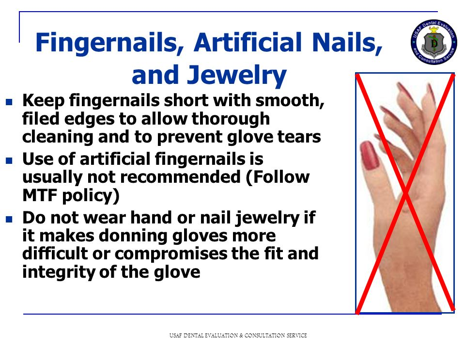 Fingernails, Artificial Nails, and Jewelry