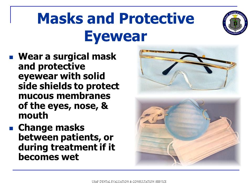 Masks and Protective Eyewear