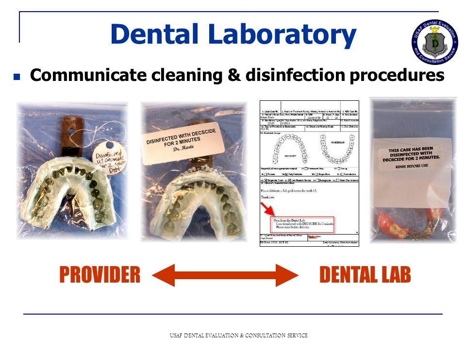USAF DENTAL EVALUATION & CONSULTATION SERVICE