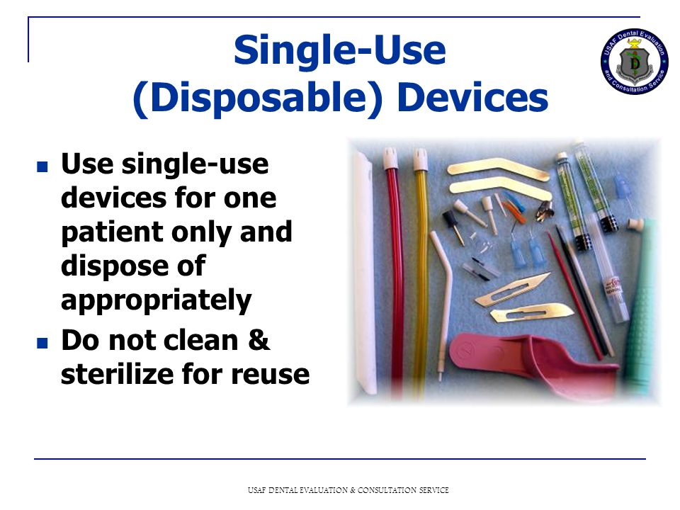 Single-Use (Disposable) Devices