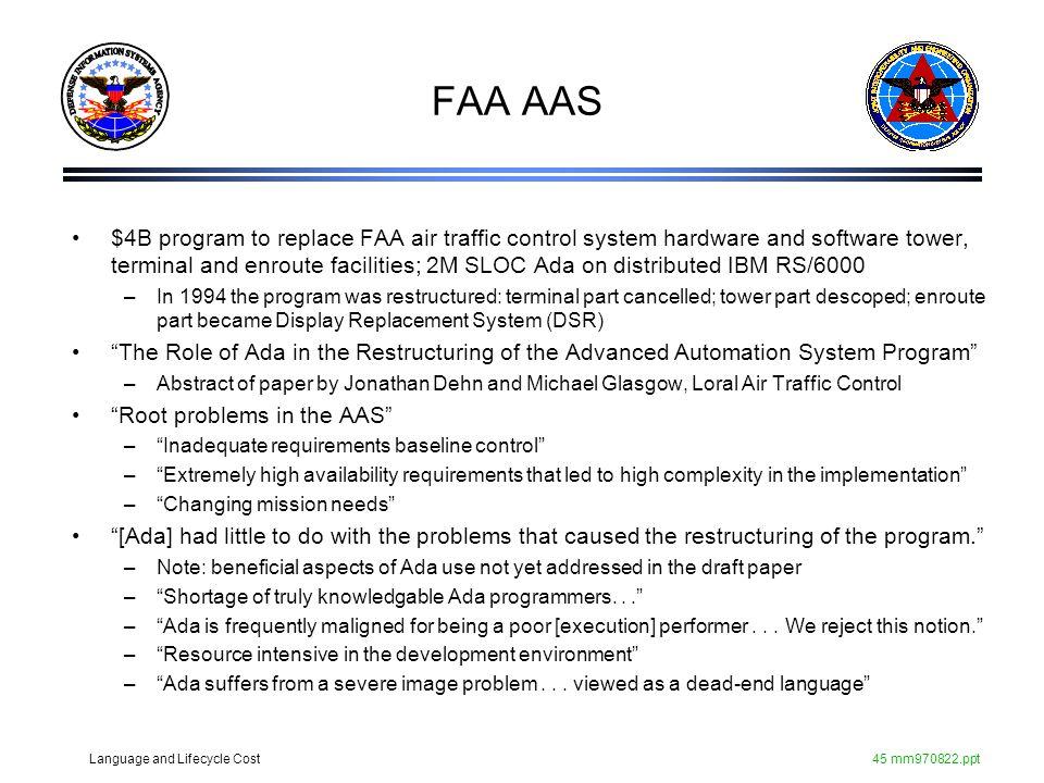 FAA AAS