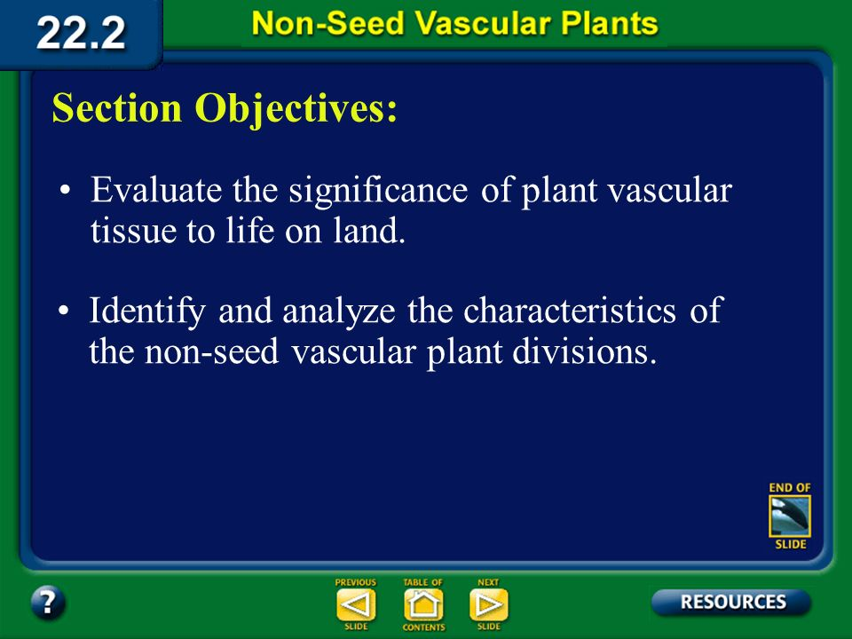 22.2 Section Objectives – page 581