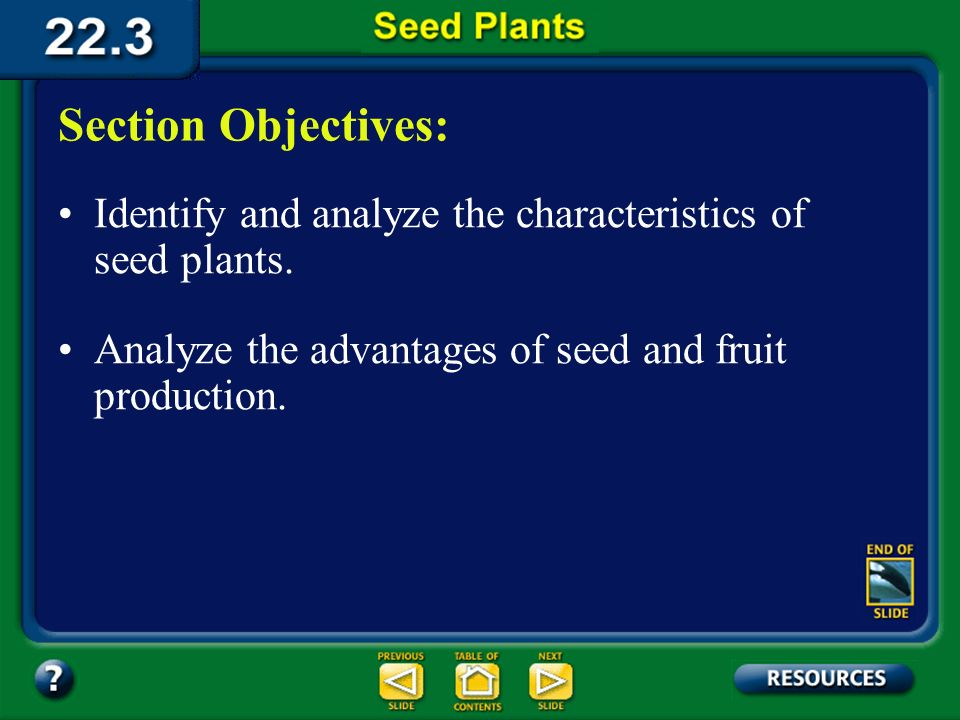 22.3 Section Objectives – page 588