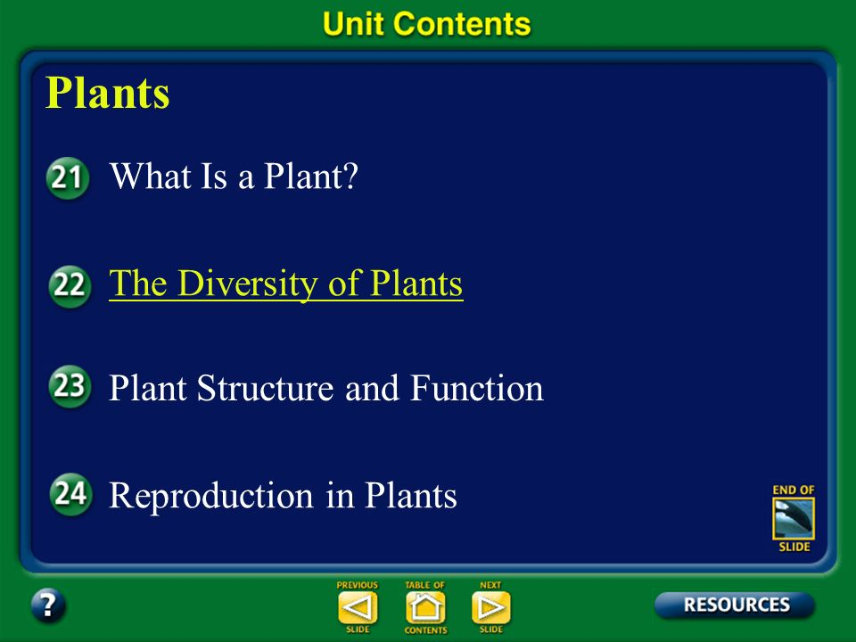 Plants What Is a Plant The Diversity of Plants
